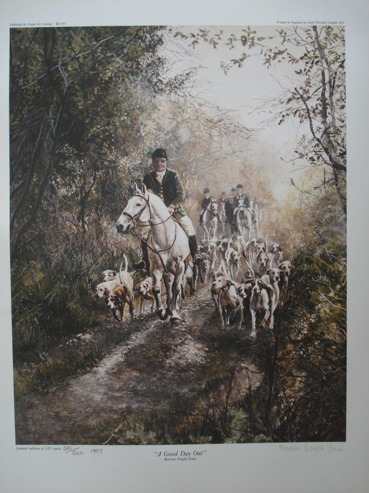 A Good Day Out - M Height-Jones - Limited Edition Print