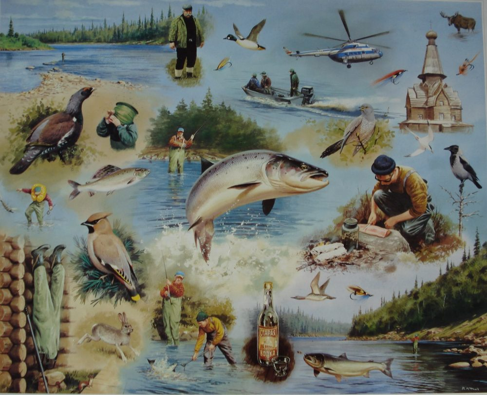 Sporting Fish & Game - Rodger McPhail - Limited Edition Print