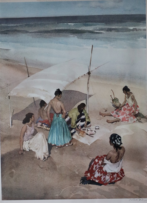 Maidens on Beach - Russell Flint